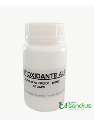 Ácido α-lipóico (ALA) - Anti oxidante ALA 500mg (60 CÁPSULAS)