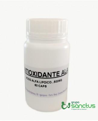 Ácido α-lipóico (ALA) - Anti oxidante - 500 mg (60 Cápsulas)