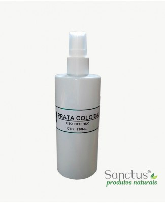 Prata Coloidal - Uso Externo 220ml